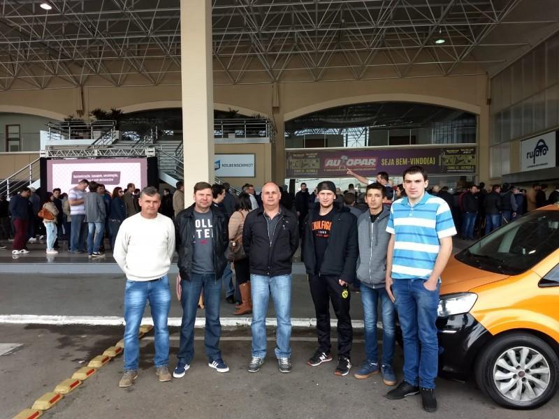Integrantes do Núcleo Automotivo da AEI participam da 9° Edição da FEIRA AUTOPAR